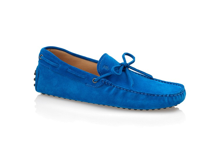 Gommino Suede Moccasin Loafers