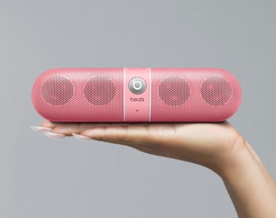 the heartbeats earphones the pink pill wireless speaker will be ...