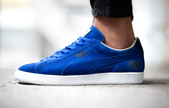 ... sports brand Puma has released a limited edition Puma Suede Sapphire.  The special edition shoe was designed and manufactured in Puma s Japanese  factory ... 0cf0a6f3c