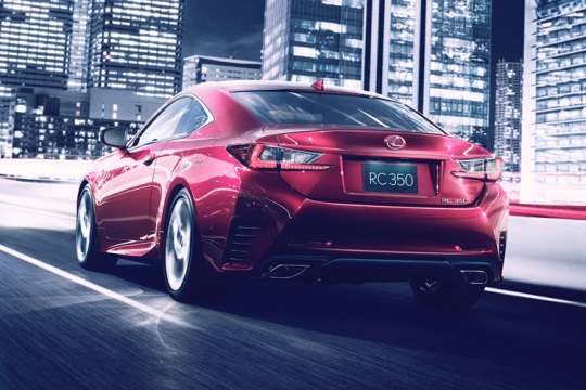 Lexus RC Coupe3