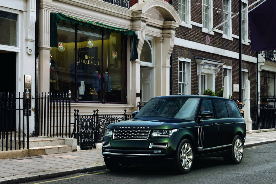 """RANGE ROVER'S """"MOST LUXURIOUS SUV EVER"""" – APPARATUS"""