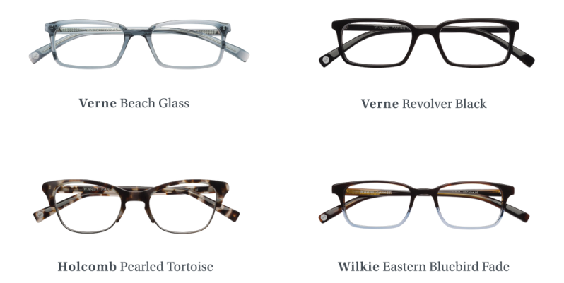 Warby Parker Winter Core4