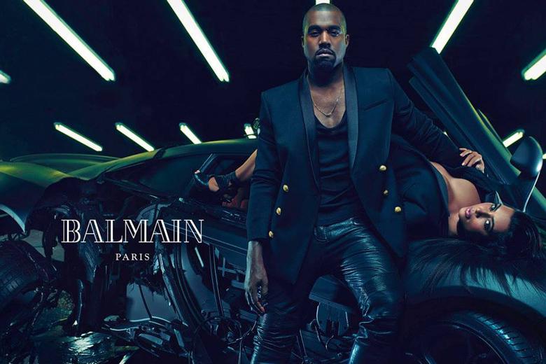 Kim Kanye Balmain4