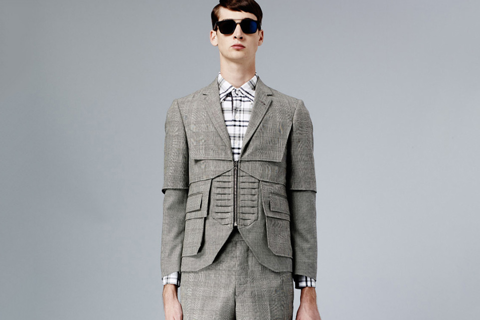 36e914e90d93 THOM BROWNE 2015 SPRING LOOKBOOK – APPARATUS