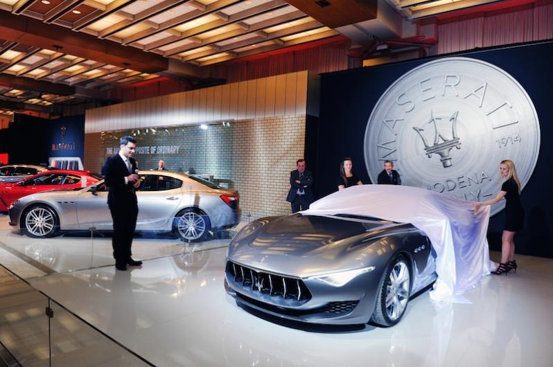 Maserati Alfieri Unveiled at CAIS