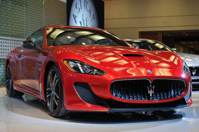Maserati Alfieri Unveiled at CAIS2