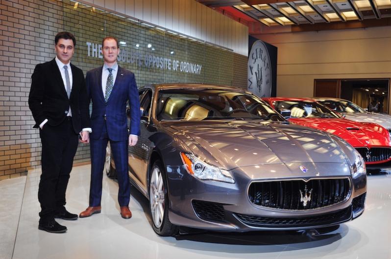 Maserati Alfieri Unveiled at CAIS5