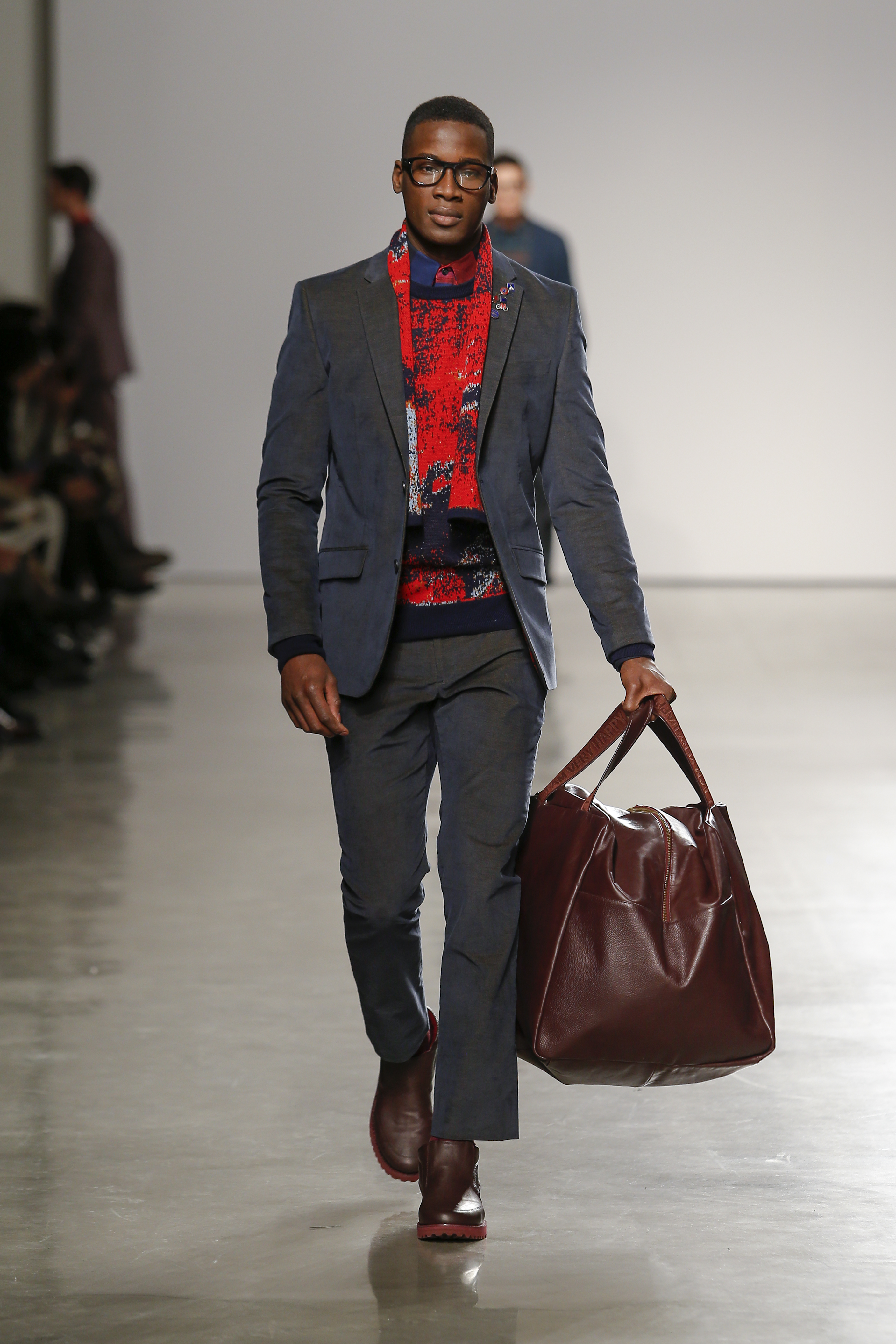 PERRY ELLIS FALL 2015 RUNWAY COLLECTION