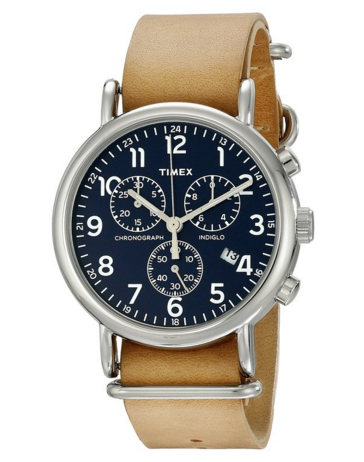 Timex Weekender Stainless Steel Watch with Interchangeable Band