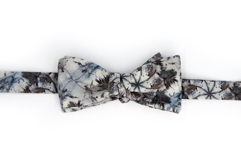 Eskayel x ZB Savoy Laurel Forest Thicket Bow Tie 1