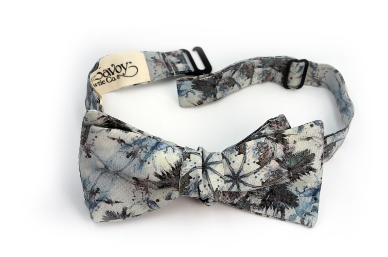 Eskayel x ZB Savoy Laurel Forest Thicket Bow Tie 2