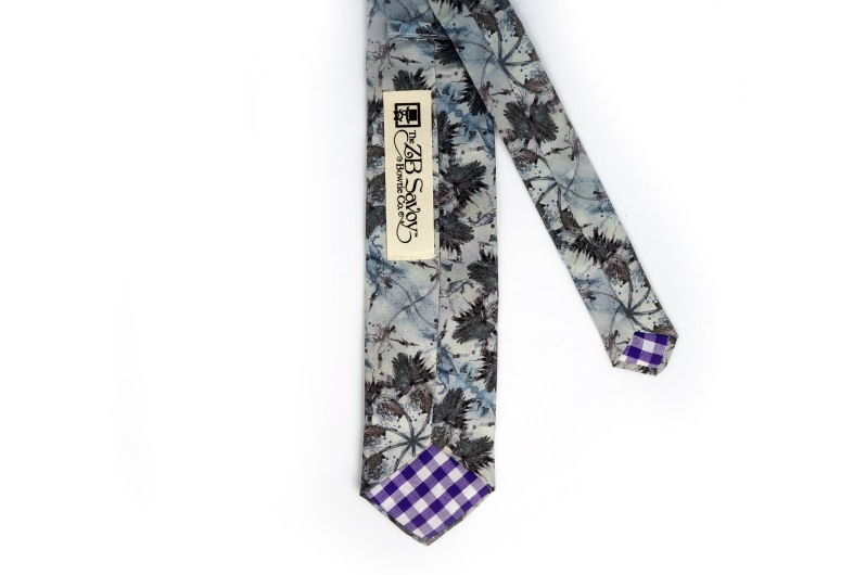 Eskayel x ZB Savoy Laurel Forest Thicket Tie 2