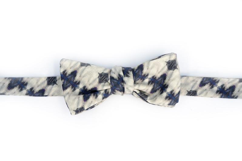 Eskayel x ZB Savoy Ripple Strata Bow Tie 1