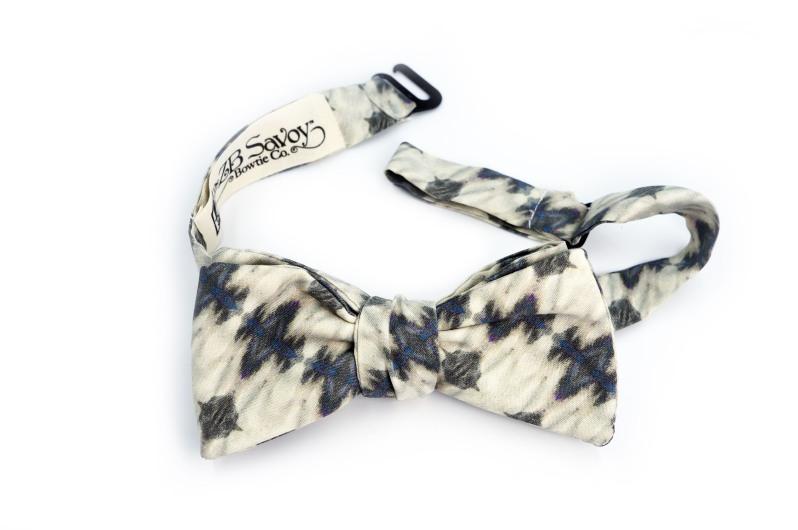 Eskayel x ZB Savoy Ripple Strata Bow Tie 2