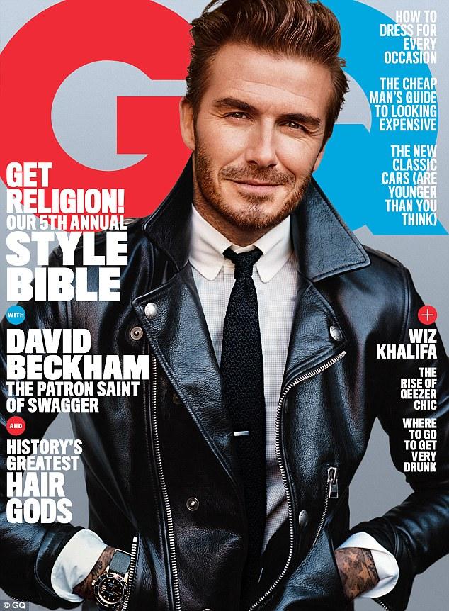 David Beckham GQ Cover