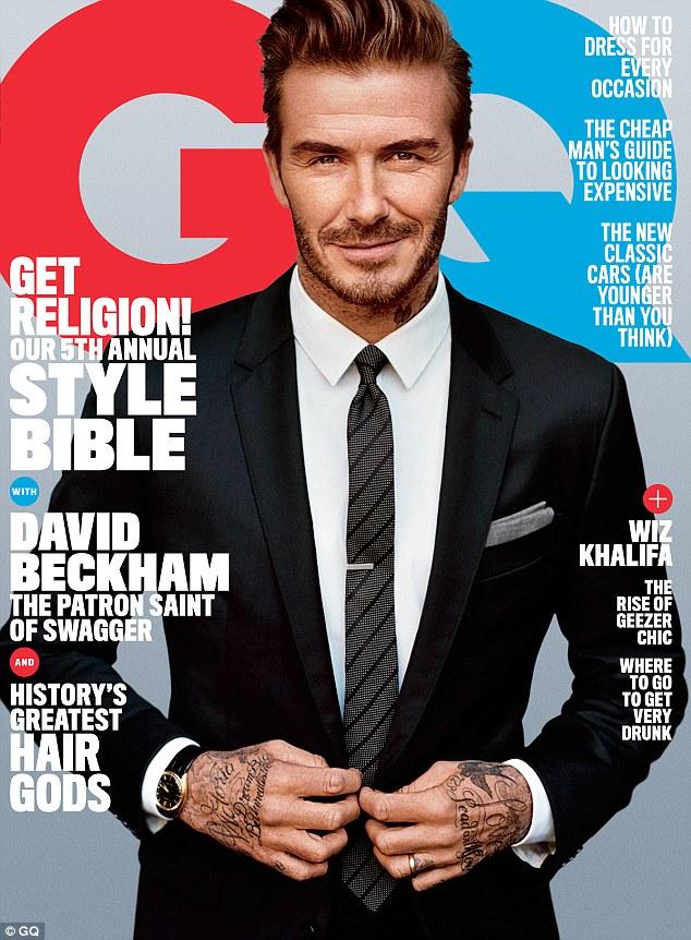 David Beckham GQ Cover2