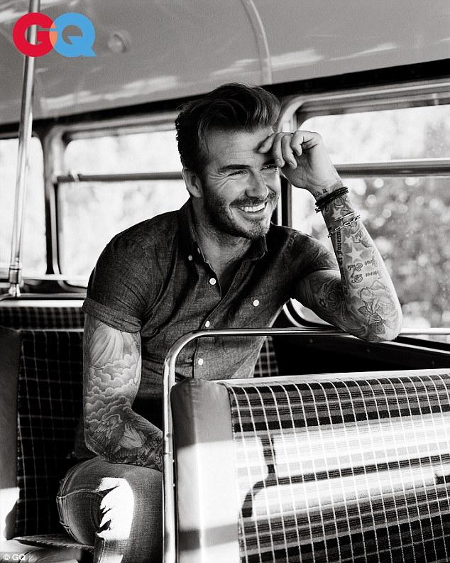 David Beckham GQ Cover4