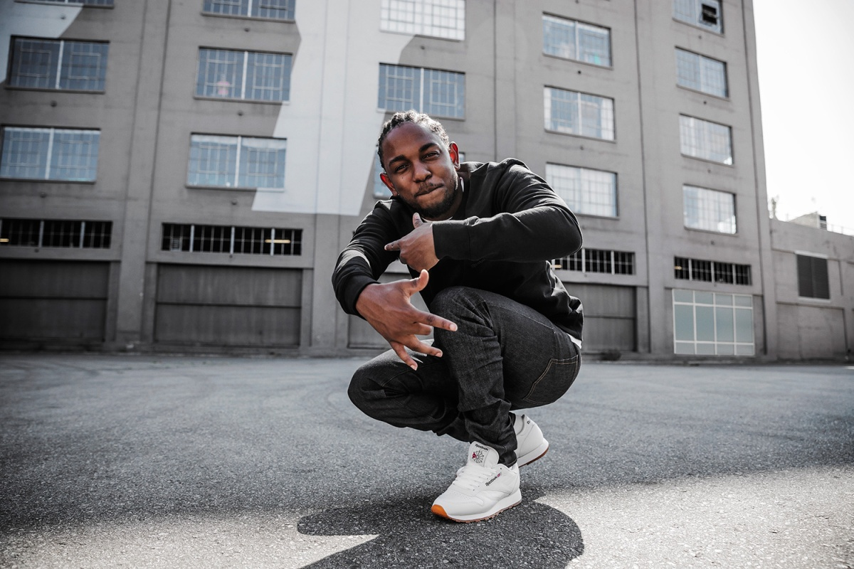 KENDRICK LAMAR LINKS UP WITH REEBOK TO REINTRODUCE THE CLASSIC LEATHER