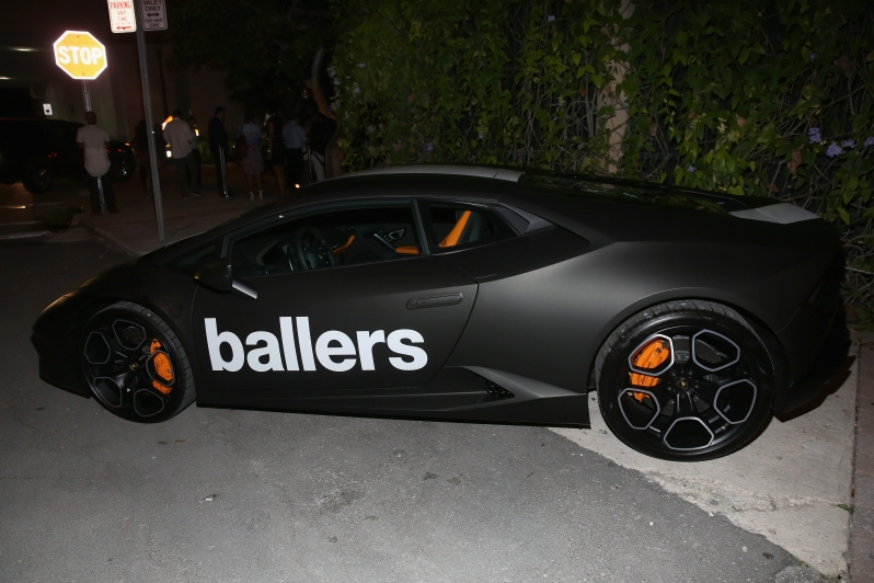 HBO Ballers Season 2 Red Carpet Premiere After Party in Miami