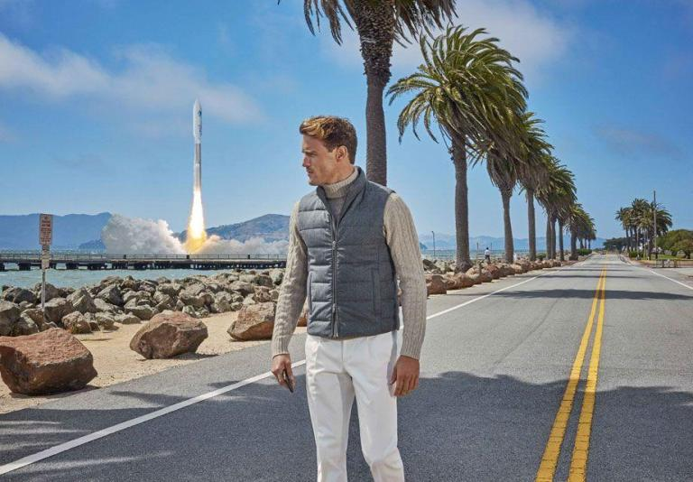 CARLI HERMÈS for Suitsupply FW Campaign