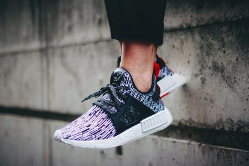 Blue Camo Adidas NMD XR1 Sole Collector