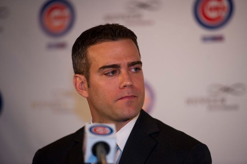 MLB: OCT 25 Cubs Name Theo Epstein President of Baseball Operations