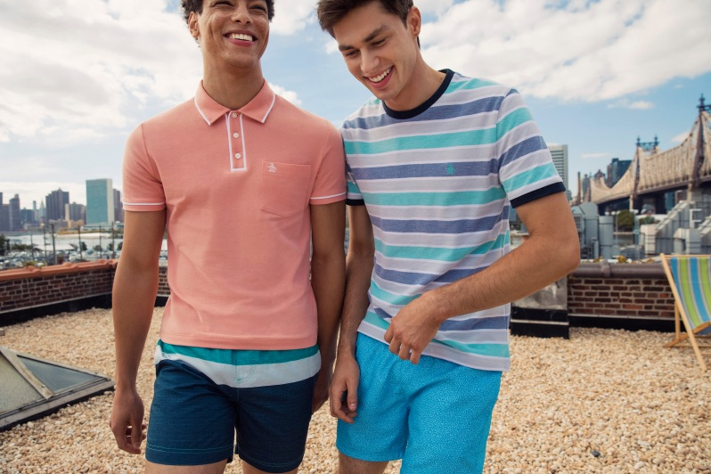 ORIGINAL PENGUIN UNVEILS SPRING 2017 COLLECTION.  earl-heritage-slim-polo opks7274 669 bd90ccb92d7