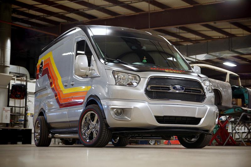 Ford X Wyotech Crusin Van Apparatus