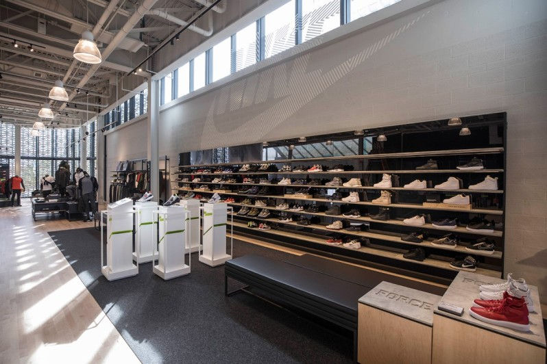 NIKE UNVEILS TWO STORY MULTI SPORT 31000 SQUARE FOOT RETAIL