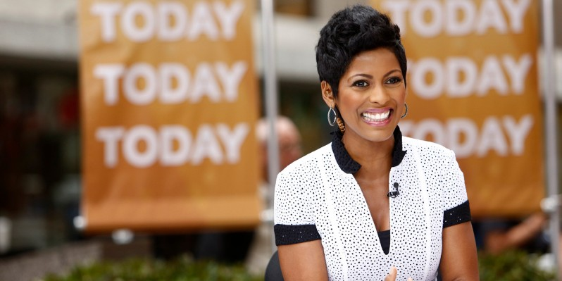 "TODAY -- Pictured: Tamron Hall appears on NBC News' ""Today"" show -- (Photo by: Peter Kramer/NBC/NBC NewsWire via Getty Images)"