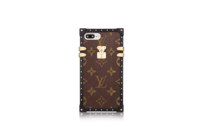 louis vuitton eye trunk iphone 7 7 plus cases apparatus. Black Bedroom Furniture Sets. Home Design Ideas