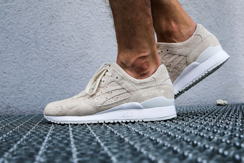 the best attitude 6387e f9883 AN ON FEET LOOK AT THE ASICS GEL-LYTE III BIRCH SUEDE ...