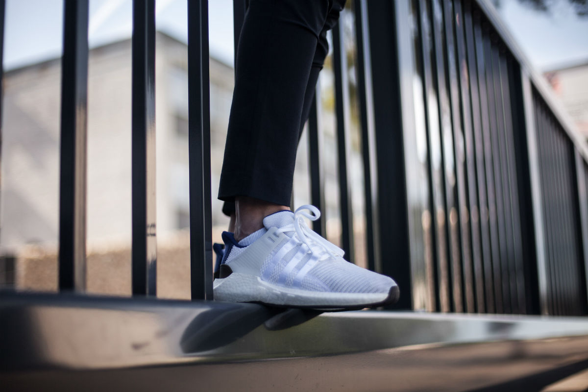 sale retailer b1e81 457b2 ON FEET LOOK AT THE ADIDAS EQT SUPPORT 9317 WHITEROYAL