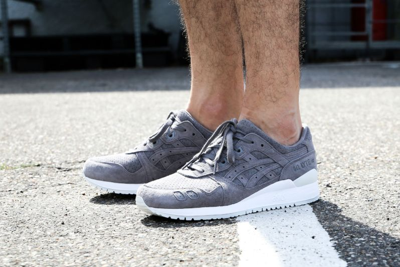 huge selection of b5afb 212c0 ON FEET LOOK AT THE ASICS GEL-LYTE III ALUMINUM SUEDE ...