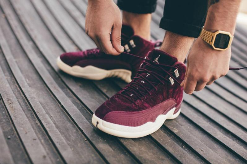 official photos b5c04 edf91 AN EXCLUSIVE LOOK AT THE UPCOMING AIR JORDAN 12 BORDEAUX ...