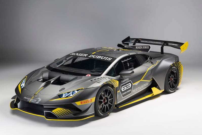 lamborghini unveils the hurac n super trofeo evo apparatus. Black Bedroom Furniture Sets. Home Design Ideas