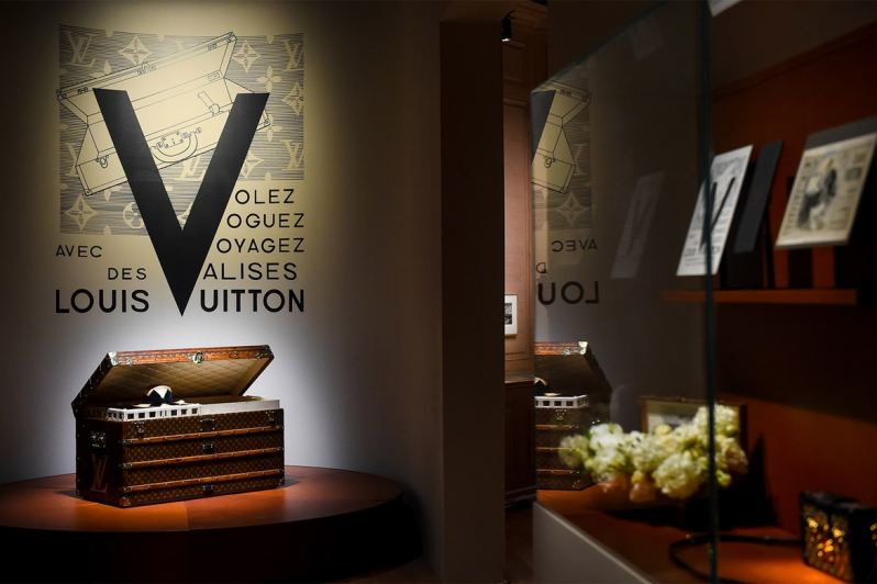 6ee032313993 Louis Vuitton has opened the doors to its first-ever major exhibit