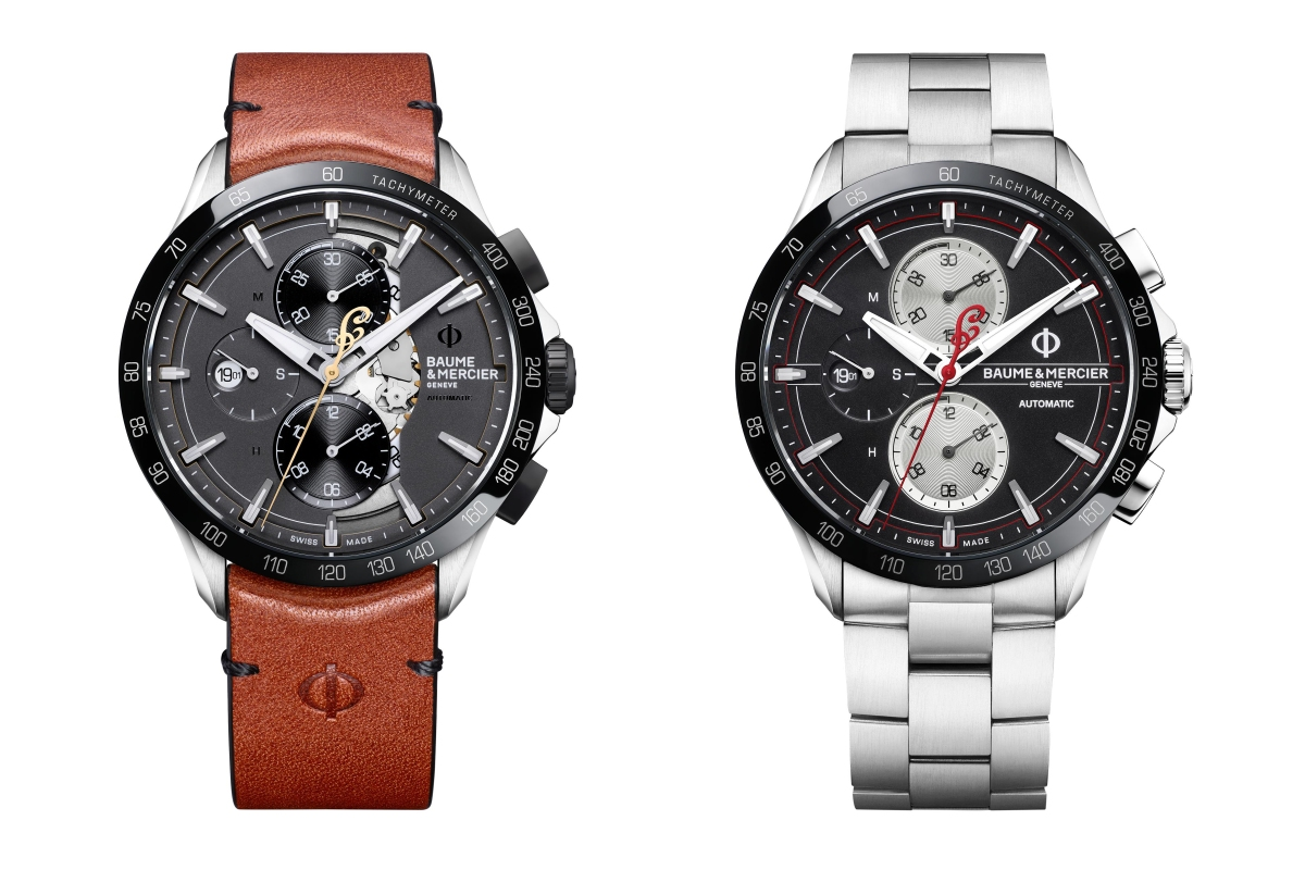 BAUME & MERCIER AND INDIAN MOTORCYCLE UNVEIL TWO NEW LIMITED-EDITION TIMEPIECES
