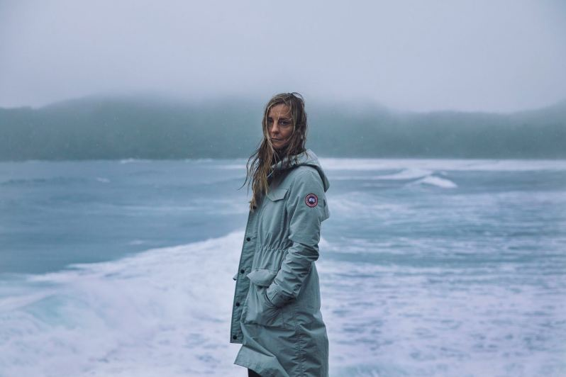 Canada Goose Employs Strati Dry 3l Technical Fabric For