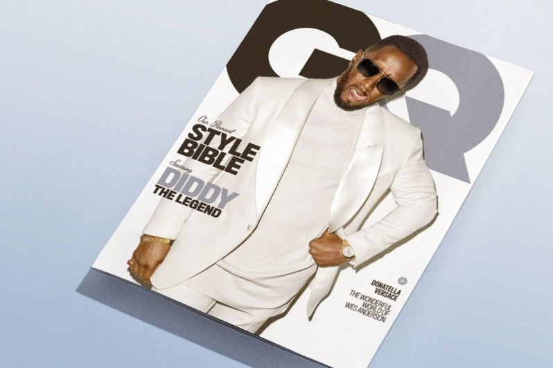 fd7af926ac DIDDY LANDS COVER OF GQ S APRIL STYLE BIBLE – APPARATUS