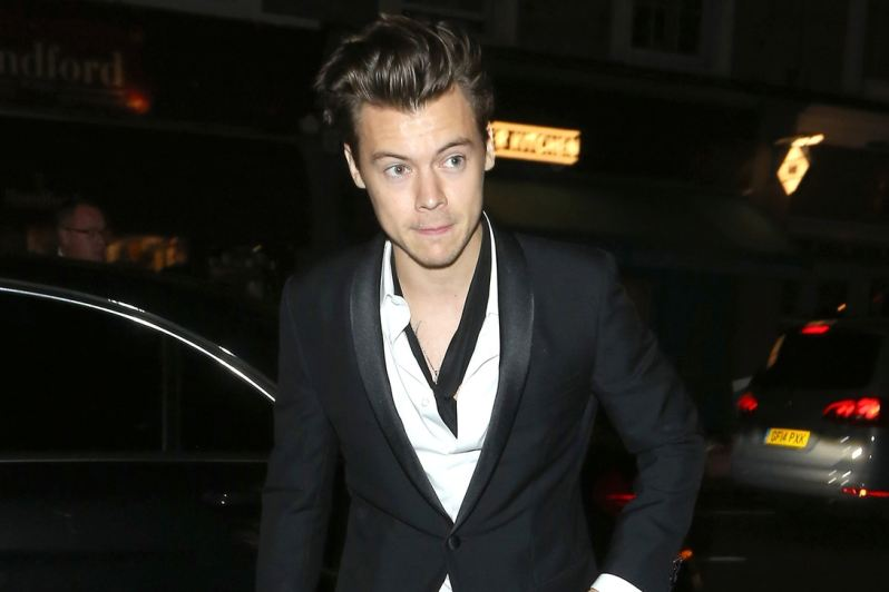 24facf1dab9 Former One Direction member Harry Styles has been tapped by Gucci to star  in its upcoming tailoring campaign. The Italian fashion house made the ...
