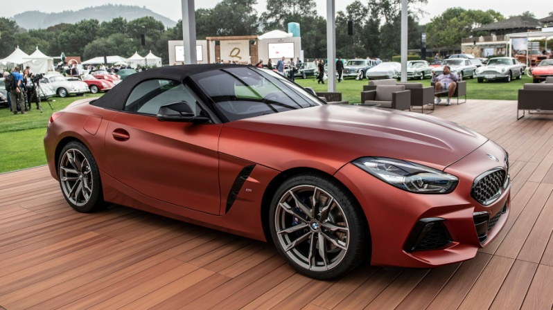 Bmw Introduces The 2019 Z4 M40i Roadster First Edition