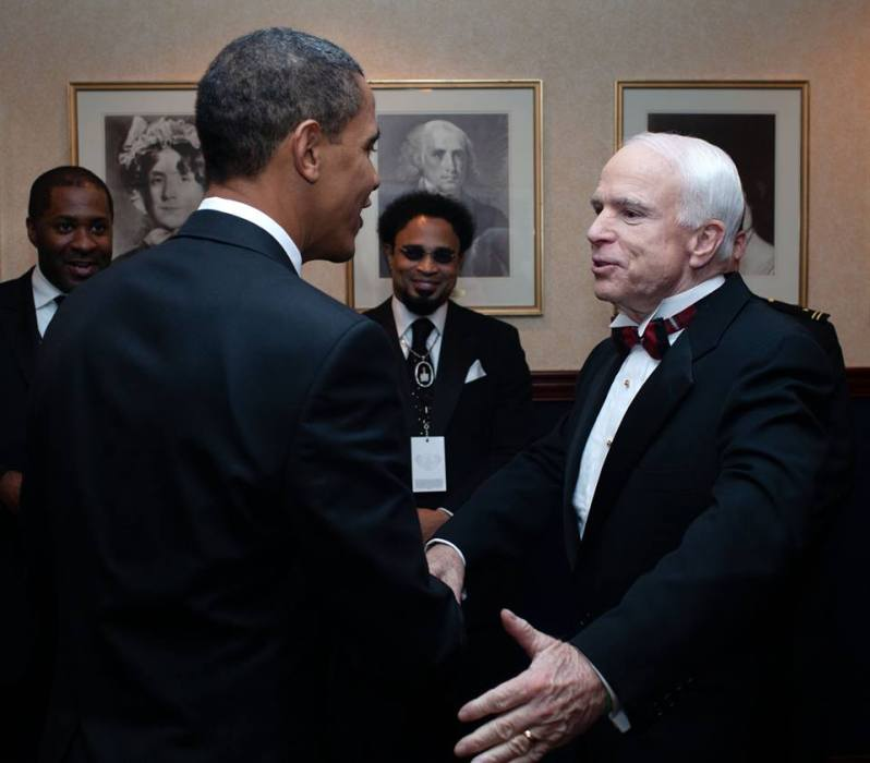 BARACK OBAMA AND OTHERS REMEMBER SEN JOHN MCCAIN