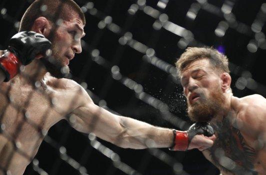 Nurmagomedov defeats McGregor UFC 229-2