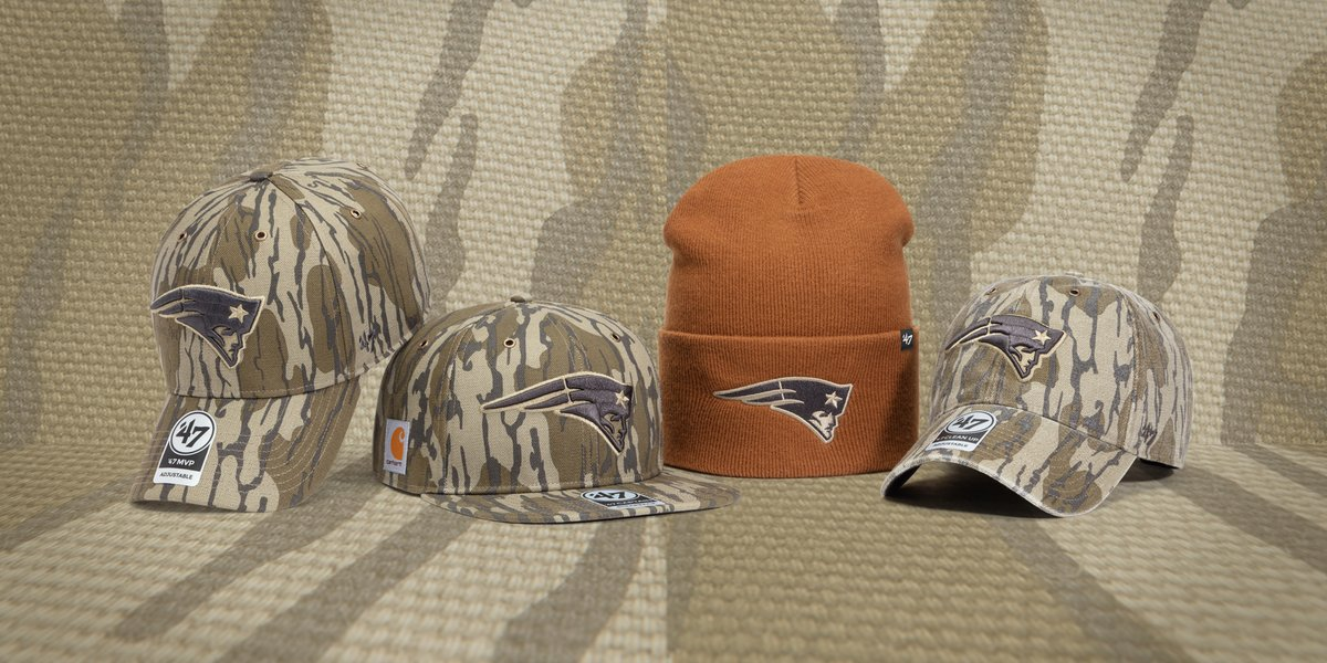 9e52ac374 CARHARTT, '47 & MOSSY OAK RELEASES LIMITED-EDITION NFL HATS – APPARATUS