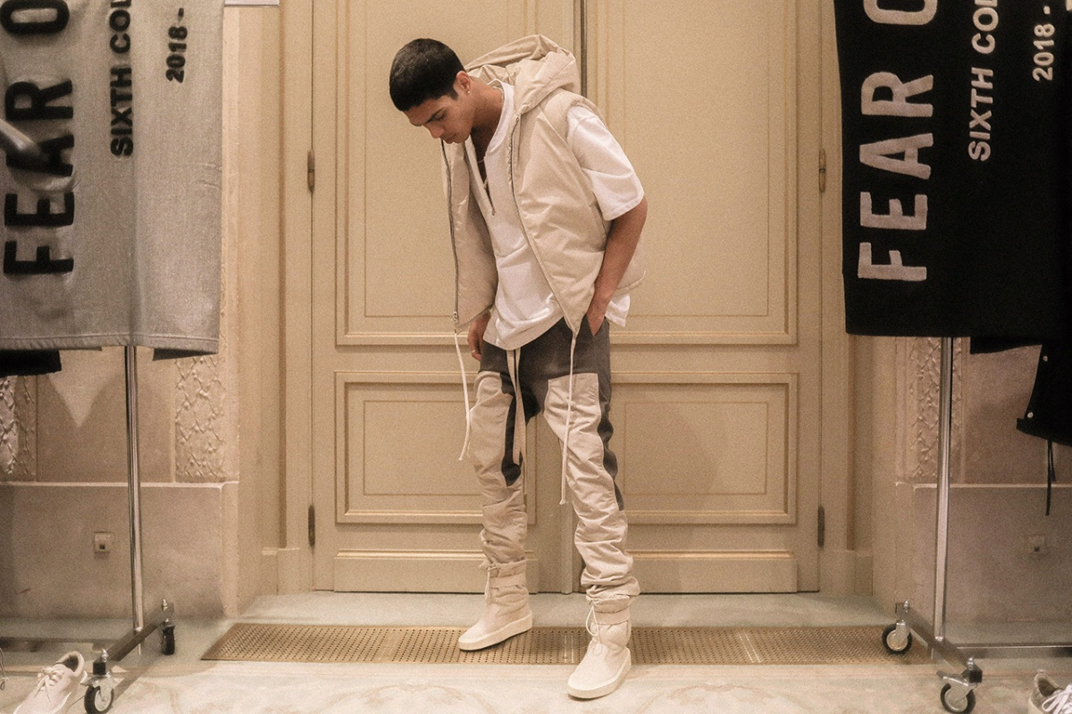 AN INSIDE LOOK AT FEAR OF GOD'S PARIS SHOWROOM